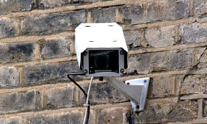 A CCTV camera in London. The UK Information Commissioner's Office had regarded a camera on a house a
