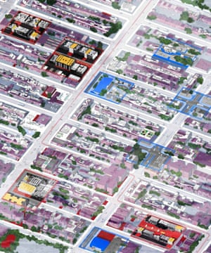 The Other New York: axonometric view.