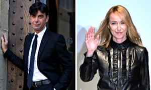 Gucci CEO Patrizio di Marco and creative director Frida Giannini, who have announced they are leavin