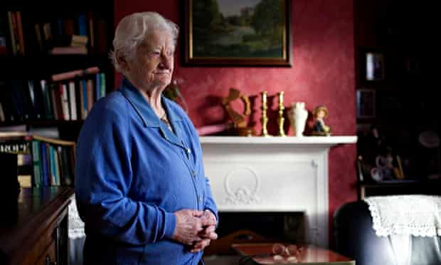 Rita McCann, who had a symphysiotomy without her knowledge or consent in 1957