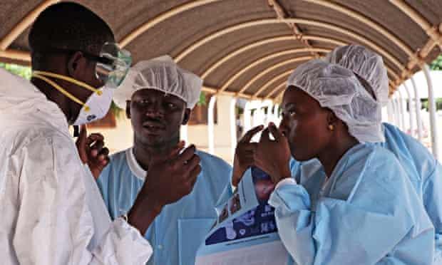Ebola treatment centre in Mali