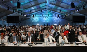 Delegates gather for the Lima Climate Action High-level