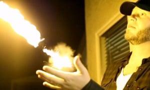 pyro fireball device