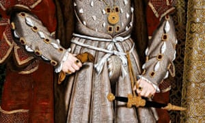 King Henry VIII's codpiece, as captured in a contemporary portrait.