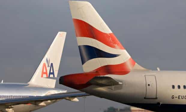 Planes at London Heathrow
