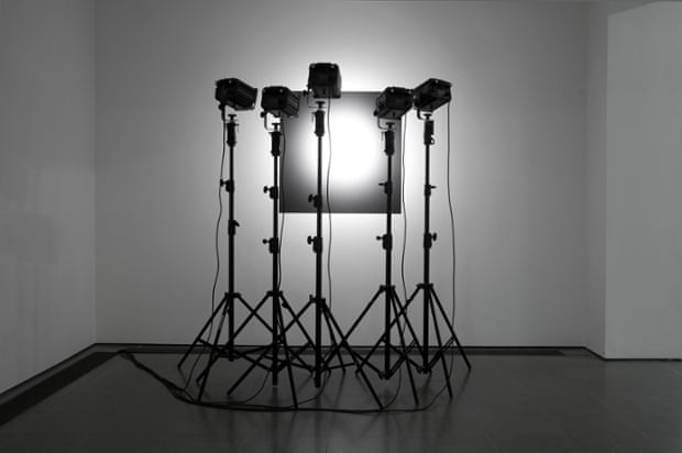 Lighting Attempt by Reiner Ruthenbeck at the Serpentine Gallery.