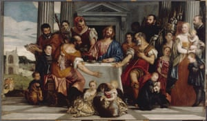 The Supper at Emmaus, c 1555, by Veronese.