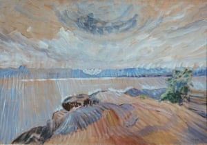 Sea and Sky, 1936, by Emily Carr.