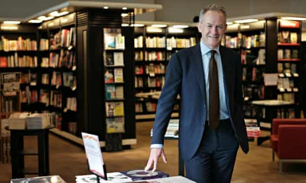 Waterstones chief executive James Daunt