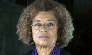 'People like to point to Obama and hold him responsible for the madness' … Angela Davis.
