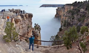 Grand Canyon Filled With Sea Of Clouds Provides Rare Treat