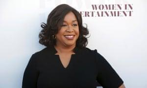 Screenwriter, director and producer Shonda Rhimes