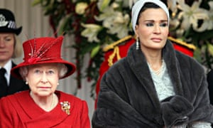 Sheikha Mozah and the Queen