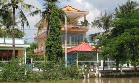 Mansion in Vietnam's Mekong Delta