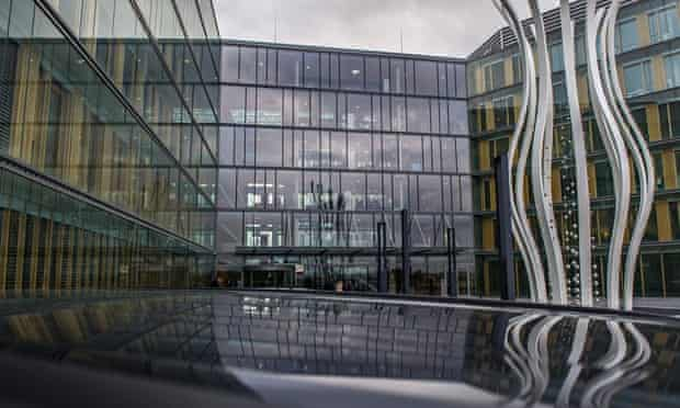 PricewaterhouseCoopers' HQ in Luxembourg