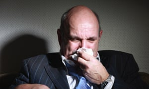 Dying? No, you're not. You've just got a runny nose.