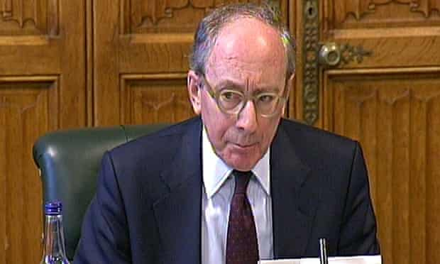 Chairman of the Intelligence and Security committee, Sir Malcolm Rifkind.