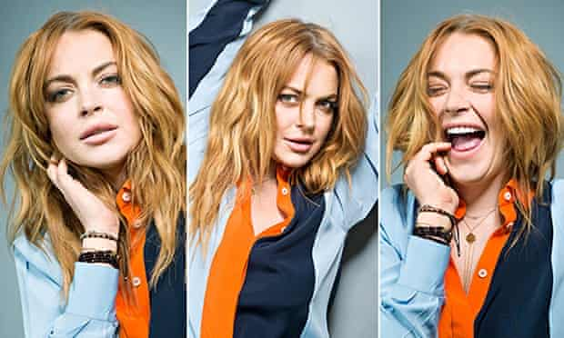 Lindsay Lohan photographed in London by Pal Hansen. ONE TIME USE ONLY
