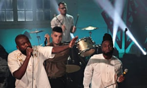 Young Fathers at Other Voices festival