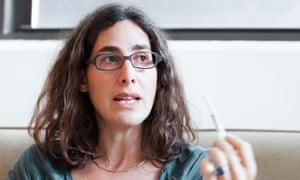 Serial podcast presenter Sarah Koenig.