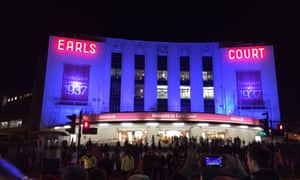 Earls Court on its closing night