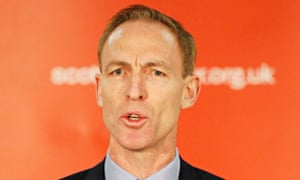 Scottish Labour's new party leader, Jim Murphy.