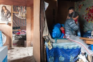 Dingboche.Pasang Lhama Sherpa, 28, wakes up her five-year-old son, preparing him for the day. Her biggest worry is her sons education, unable to afford school fees. Foreign trekkers have offered to sponsor her son. She has yet to receive any form of payment. She says if she has no sponsor, her boy cannot afford to go to school, unable to achieve higher grades. Like most families in the area, she worries if her child does not receive a good education, he will also grow up with no opportunities and become a mountaineer.