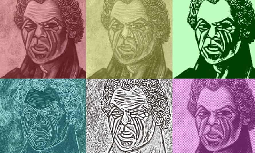 Warwick Keen's The many faces of Bungaree.