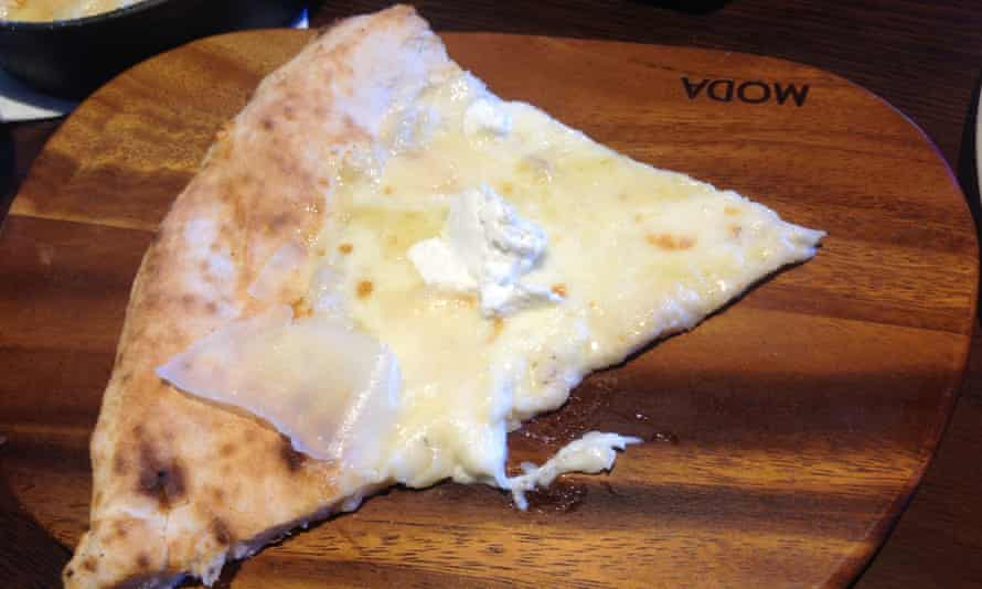 Melbourne's 99 cheese pizza.