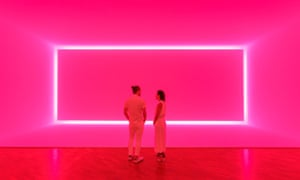 James Turrell Raemar pink