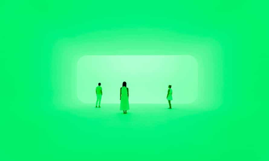 James Turrell's Virtuality squared(2014)