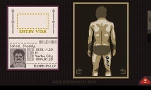 At launch, Papers, Please had no nude body scans on iPad.