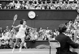 1977 Virginia Wade The joy of victory is evident on the face of Virginia Wade after she beat Betty Stove 4-6, 6-3, 6-1 in the 1977 Ladies Singles Final at Wimbledon