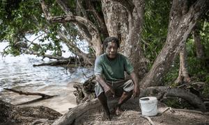 George Lokowah – a chief and local councillor at Mokoreng village