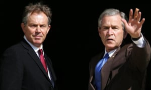 Tony Blair with George W Bush. A judicial inquiry should establish the extent of British involvement in torture.