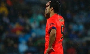 Barcelona could only manage a 0-0 draw against Getafe.