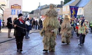 The Whittlesea Straw Bear festival