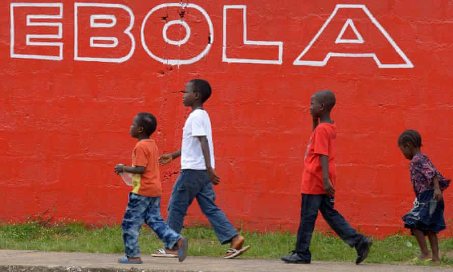 Children in Monrovia.