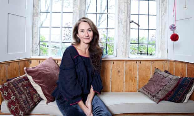 Rachel Joyce photographed at home in Gloucester by Karen Robinson for the Observer.