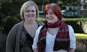 Fiona Hood (right), with GP Marianne Ford, who helped prove she was not fit for work.