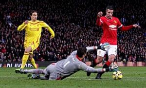 Manchester United v Liverpool Old Trafford