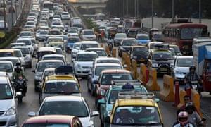 mumbai cars pollution