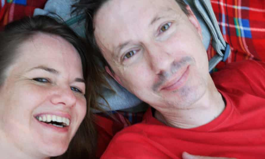 Catherine Anderson and Angus McDonald on their last trip to Burma.
