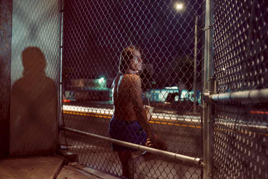 Cat Thomas, 25 years old, Santa Monica and Detroit, $20, 1990-92, by Philip-Lorca diCorcia.