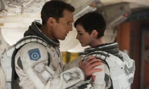 Film still from Interstellar