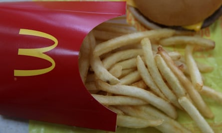 McDonald's Japan is cutting back its servings of fries due to a shortage.