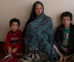 Hazara woman Fatima