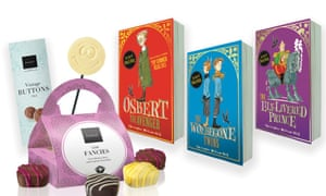 Books and chocolate giveaway