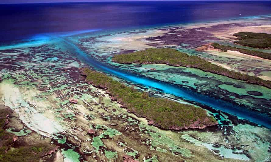 Aldabra in the Indian Ocean: David Stoddart worked hard to secure its future as a world heritage site.