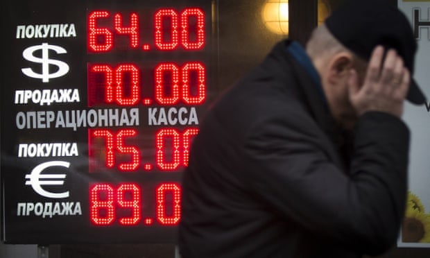 The freefalling rouble will cause Russians a bit of a headache.